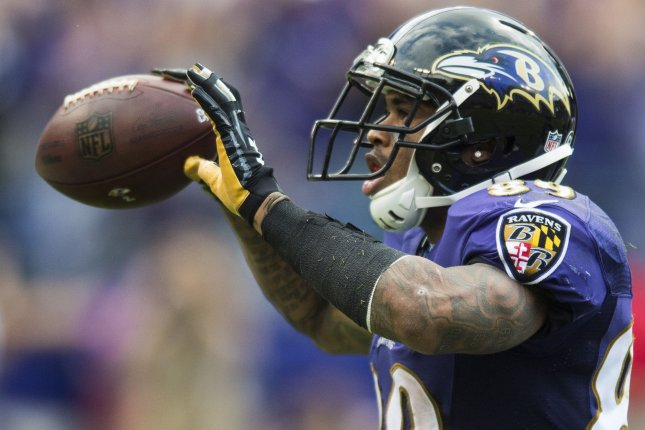 Former Baltimore Ravens wide receiver Steve Smith Sr. played in the NFL for 16 seasons. File photo by Pete Marovich/UPI