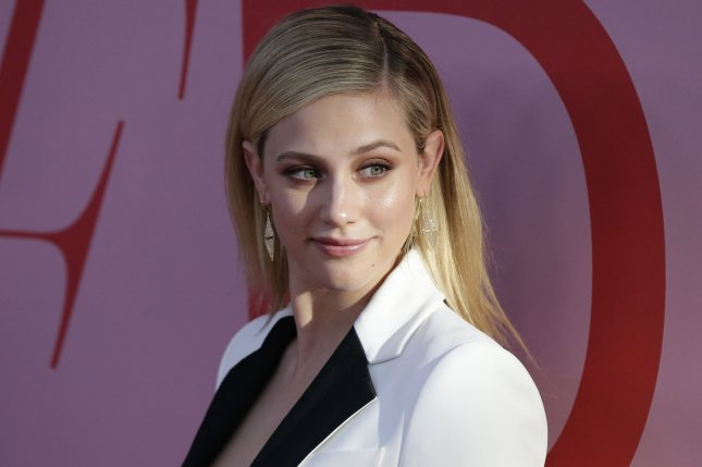 Lili Reinhartwill play Grace Town in an adaptation of the Krystal Sutherland novel Our Chemical Hearts. File Photo by John Angelillo/UPI