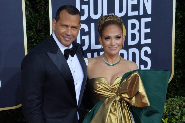 Jennifer Lopez (R) and Alex Rodriguez confirmed they have called off their two-year engagement. File Photo by Jim Ruymen/UPI