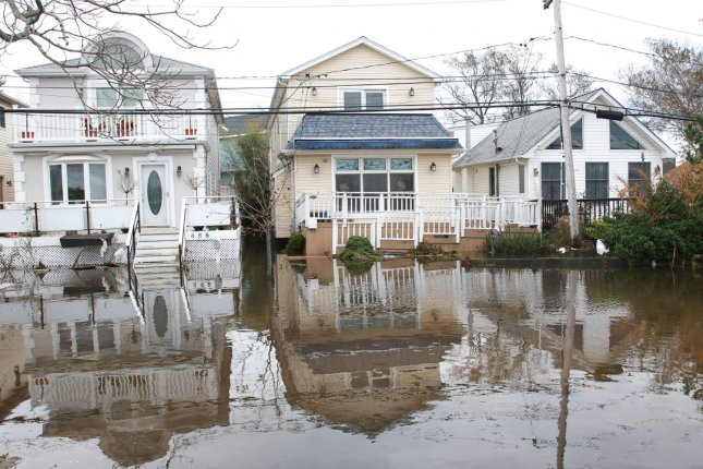 New research addresses to what degree extreme weather events like Hurricane Sandy can be attributed to global warming. File photo by Monika Graff/UPI