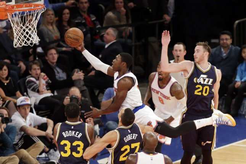 New York Knicks' Cleanthony Early. UPI/John Angelillo