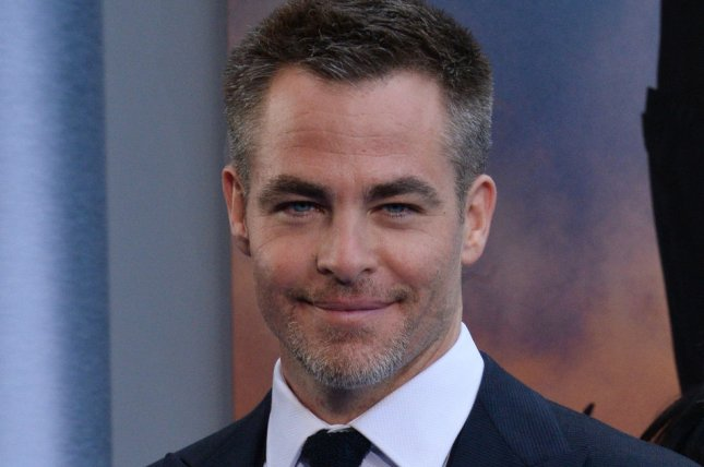 Cast member Chris Pine attends the premiere of Wonder Woman in Los Angeles on May 25. Pine is set to play Robert the Bruce in Netflix's film Outlaw King. File Photo by Jim Ruymen/UPI