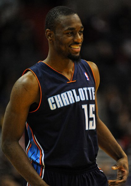 Kemba Walker and the Charlotte Hornets fought past the Los Angeles Clippers. By Mark Goldman/UPI