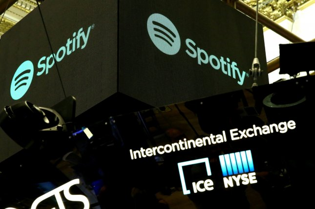 Spotify's 100 million users are twice the number Apple Music has. File Photo by Monika Graff/UPI