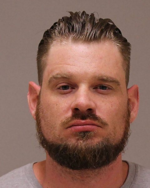Adam Fox is seen in a booking photo provided by the Kent County (Mich.) Sheriff's Office. Authorities say he and several other men connected to militia groups in Michigan plotted to take violent action against multiple state governments that they believe are violating the U.S. Constitution, as well as abduct Michigan Gov. Gretchen Whitmer. Photo by Kent County Sheriff's Office/UPI