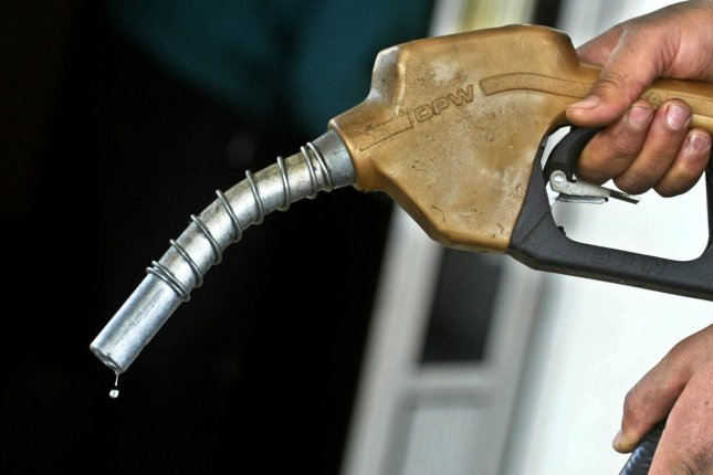 Retail gasoline prices follow a rally in crude oil prices, a situation compounded by lingering refinery issues in the U.S. market, motor club AAA reports. File Photo by Ismael Mohamad/UPI