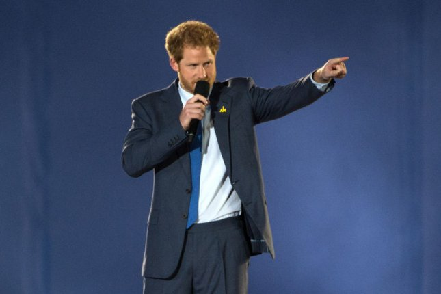 Prince Harry speaks during the opening ceremony of the 2016 Invictus Games in Orlando, Fla., on May 8. He released a statement confirming his relationship with actress Meghan Markle and condemned the abuse and harassment she's received since the news broke. File Photo by EJ Hersom/DoD/UPI