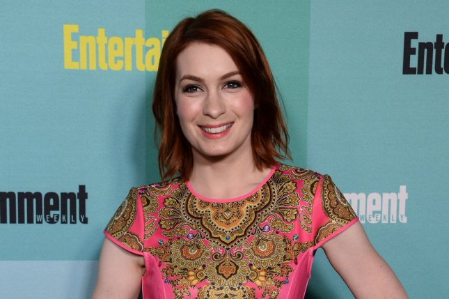 Felicia Day at Entertainment Weekly's San Diego Comic-Con closing night party on July 11, 2015. File Photo by Jim Ruymen/UPI