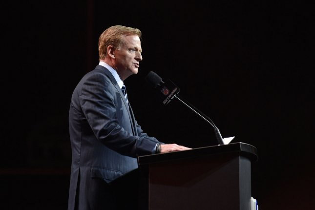 NFL commissioner Roger Goodell. Photo by Derik Hamilton/UPI