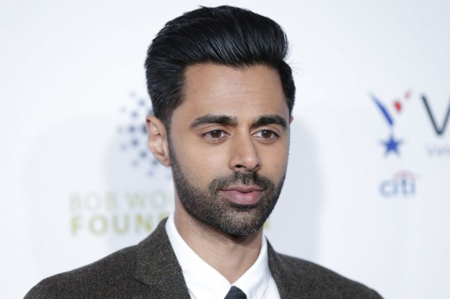 Hasan Minhaj was scheduled to co-host the White House Correspondents' Dinner on April 25, but it has been postponed until an unspecified date. File Photo by John Angelillo/UPI