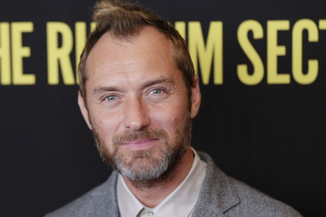 The Third Day star Jude Law arrives on the red carpet at The Rhythm Section New York City screening on January 27. The Third Day, which also stars Naomie Harris, will premiere on Sept. 14. File Photo by John Angelillo/UPI