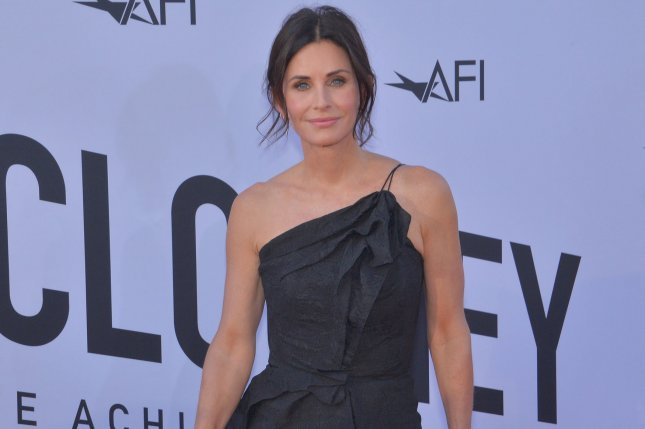 Courteney Cox will be back for Scream 5. File Photo by Jim Ruymen/UPI