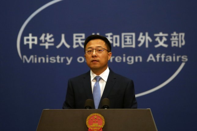 Chinese foreign ministry spokesman Zhao Lijian said Tuesday that U.S. Deputy Secretary of State Wendy Sherman and Foreign Minister Wang Yi had deep and thorough conversations over six hours of meetings. File Photo by Stephen Shaver/UPI