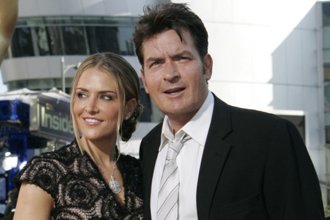 Charlie Sheen and Brooke Mueller. UPI /Lori Shepler