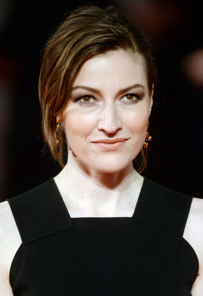 Scottish actress Kelly Macdonald attends the 70th EE British Academy Film Awards in London on February 12. Macdonald is to co-star with Benedict Cumberbatch in the BBC movie Child in Time. File Photo by Paul Treadway/ UPI