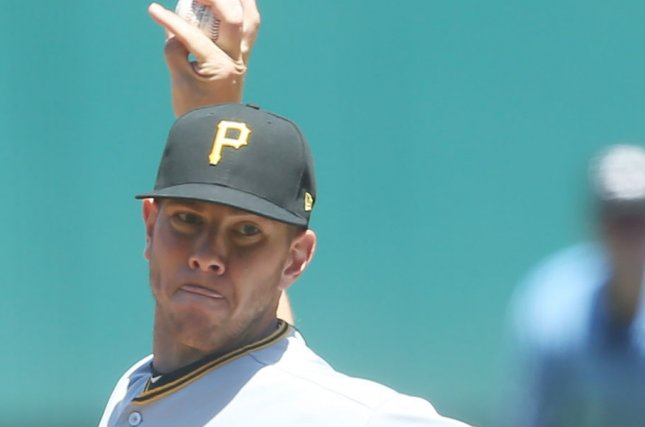 Nick Kingham and the Pittsburgh Pirates face the Cincinnati Reds on Friday. Photo by Bill Greenblatt/UPI