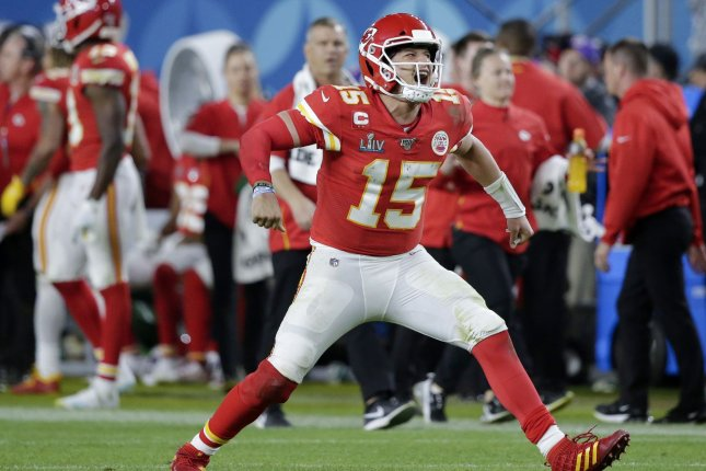 Fans can rewatch Patrick Mahomes and the Kansas City Chiefs Super Bowl win against the San Francisco 49ers as part of the NFL's promotion offering free NFL Game Pass during the coronavirus outbreak. File