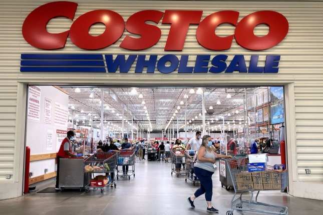 Costco CEO Craig Jelinek said Thursday at a Senate budget hearing the minimum wage for its U.S. hourly employees would increase to $16 next week. File Photo by Kevin Dietsch/UPI