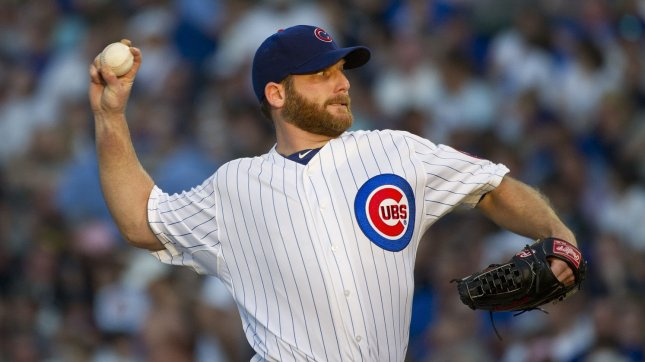 The Chicago Cubs have traded veteran pitcher Ryan Dempster to the Atlanta Braves, MLB.com reported Monday. May 19 file photo. UPI/Brian Kersey