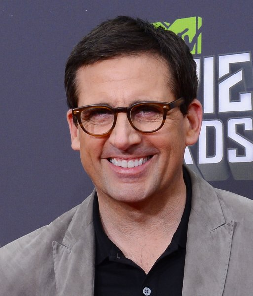 Actor Steve Carell arrives for The MTV Movie Awards at Sony Picture Studios in Culver City, California on April 14, 2013. UPI/Jim Ruymen