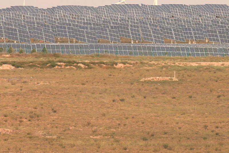 Italian energy company Eni plans to start construction on a solar power facility in Algeria. File photo by Stephen Shaver/UPI