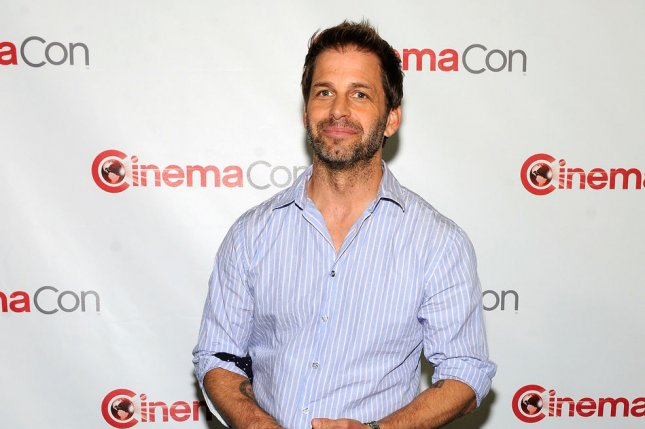 Director Zack Snyder arrives at a Warner Bros. event to promote Man of Steel on April 16, 2013. On Twitter, Snyder has thanked fans for their support as he deals with a family tragedy. File Photo by David Becker/UPI