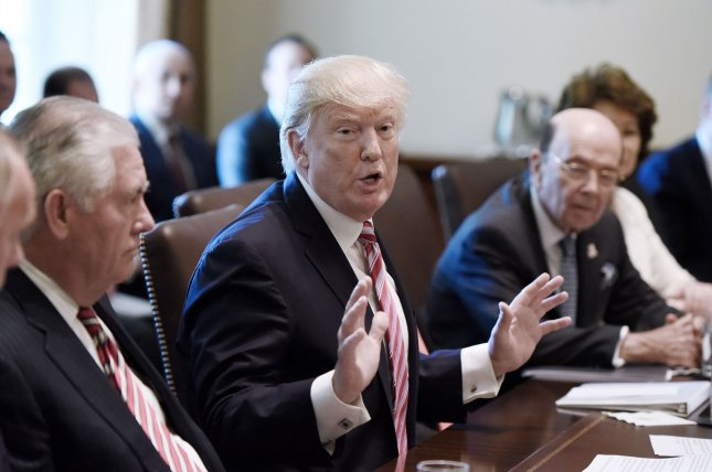 A San Francisco-based federal appeals court on Monday rejected a revised executive order from President Donald Trump to suspend U.S. entry for immigrants of six largely Muslim countries, saying the president had not established cause for the travel ban. Photo by Olivier Douliery/UPI