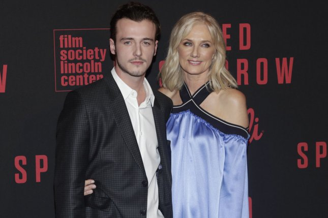 Micheál Neeson (L), pictured with Joely Richardson, switched his surname as a tribute to his mother, Natasha Richardson. File Photo by John Angelillo/UPI