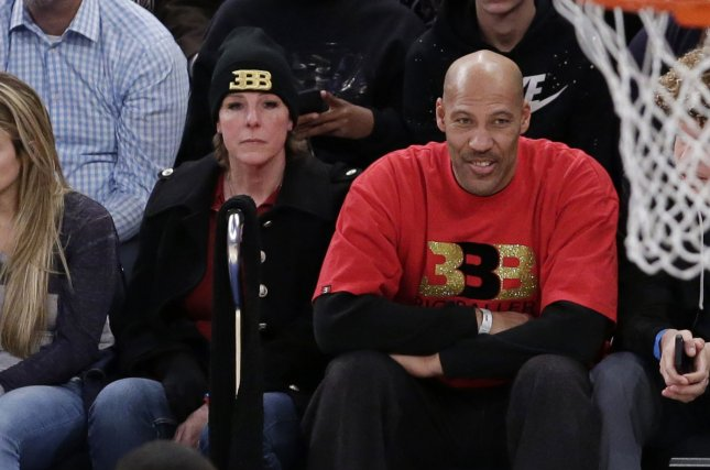 LaVar Ball is the founder of Big Baller Brand and the father of NBA point guard Lonzo Ball. File Photo by John Angelillo/UPI