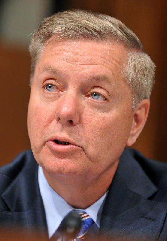Sen. Lindsey Graham, R-S.C., on Capitol Hill in Washington, June 29, 2010. UPI/Kevin Dietsch