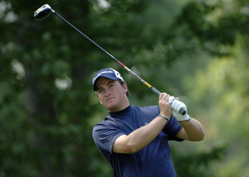 Northern Ireland's Graeme McDowell, shown in the U.S. Open June 6, 2006. (UPI Photo/Kevin Dietsch)