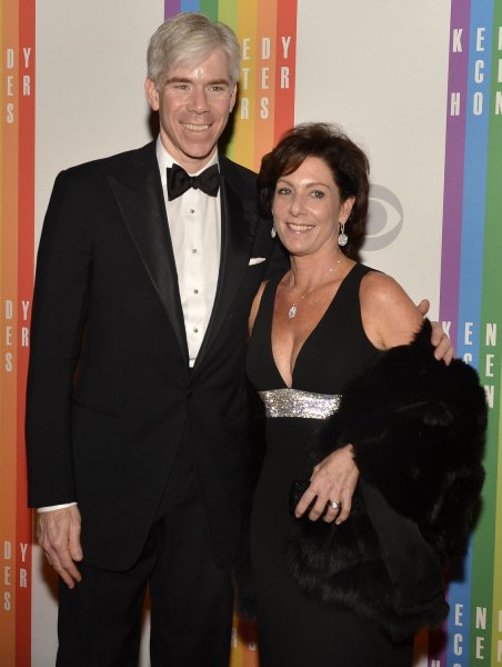 NBC television journalist David Gregory and his wife Beth Wilkinson pose for photographers on the red carpet as they arrive for an evening of gala entertainment at the Kennedy Center, December 1, 2012, in Washington, DC. The annual Kennedy Center Honors are bestowed annually on five artists for their lifetime achievement in the arts and culture. UPI/Mike Theiler