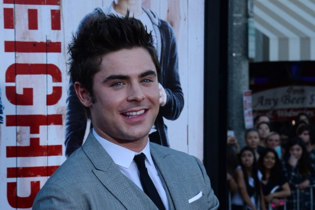 Zac Efron at the Los Angeles premiere of 'Neighbors' on April 28, 2014. File photo by Jim Ruymen/UPI
