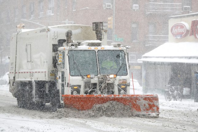 An April Fool's Day winter storm is expected to bring at least six inches of heavy, wet snow and two inches of icy rain to parts of the Northeast including Vermont, Massachusetts, New York, Maine and New Hampshire.