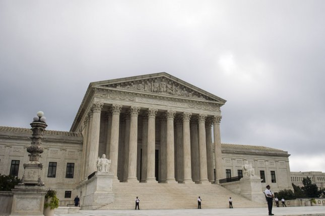 The Supreme Court said the U.S. trademark law is discriminatory against varying viewpoints on similar topics such as drug use, terrorism and religion. File Photo by Kevin Dietsch/UPI