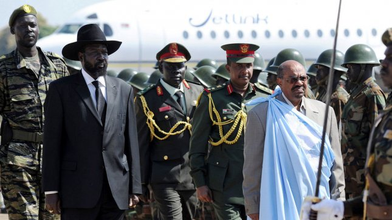 Sudan President Omar Bashir South Sudan President Salva Kiir in 2011. UPI/Tim McKulka/UN