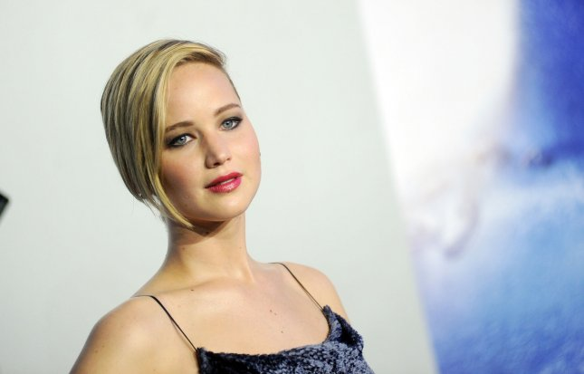 Jennifer Lawrence arrives on the red carpet at the X-Men: Days Of Future Past World Premiere at Jacob Javits Center in New York City on May 10, 2014. UPI/Dennis Van Tine