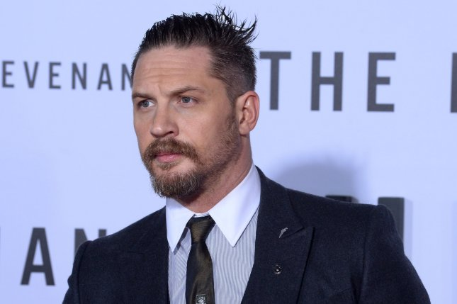 Tom Hardy attends the premiere of The Revenant on December 16, 2015. In a new interview, Hardy has detailed how excited he is to start work on a sequel to Mad Max: Fury Road. File Photo by Jim Ruymen/UPI