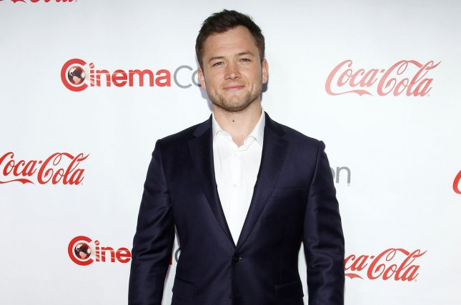 Kingsman series star Taron Egerton. A third film the series has been announced from writer and director Matthew Vaughn. File Photo by James Atoa/UPI