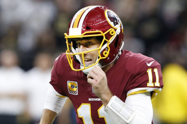 huge selection of cf166 a57ce Alex Smith outduels Cam Newton as Redskins beat Panthers ...