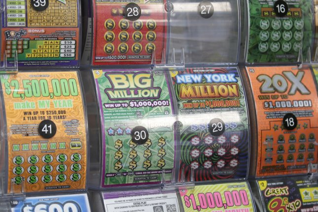 An Elkton, Md., woman won a $50,000 jackpot from a scratch-off lottery ticket just one month after collecting $10,000 from another scratch-off game. The woman previously collected two lottery prizes worth $50,000 and $100,000 in 2019. Photo by John Angelillo/UPI