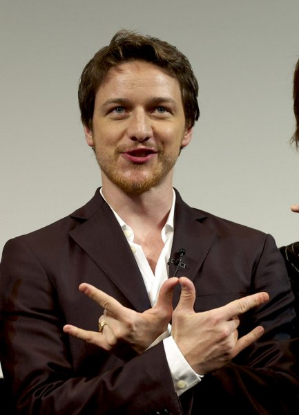 Actor James McAvoy attends the premiere for the film Wanted in Tokyo, Japan, on September 1, 2008. (UPI Photo/Keizo Mori)