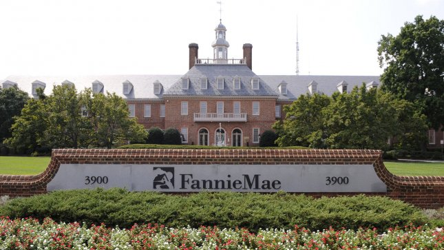 The Fannie Mae corporate headquarters is seen in Washington. UBS is charged with providing false information about the risk of mortgage-backed securities it sold to Fannie and Freddie. (UPI Photo/Kevin Dietsch)