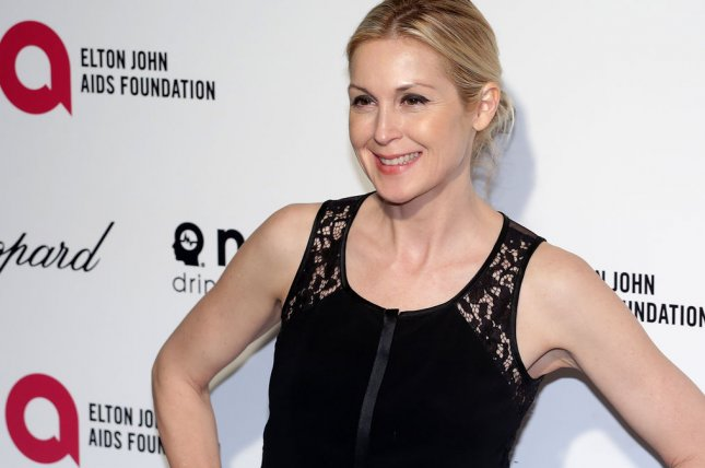 Kelly Rutherford arrives for the Elton John AIDS Foundation Academy Awards Viewing Party at West Hollywood Park in Los Angeles on February 22, 2015. In the latest round of her 6-year custody battle, a Calif. judge told Rutherford that she has no jurisdiction over the case. Photo by Jonathan Alcorn/UPI