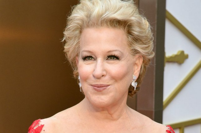 Bette Midler arrives on the red carpet at the 86th Academy Awards in Los Angeles on March 2, 2014. File Photo by Kevin Dietsch/UPI