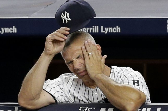 New York Yankees manager Joe Girardi and his team are looking to get a fresh start on the season when they face Tampa Bay in their home opener at Yankee Stadium. File photo by John Angelillo/UPI