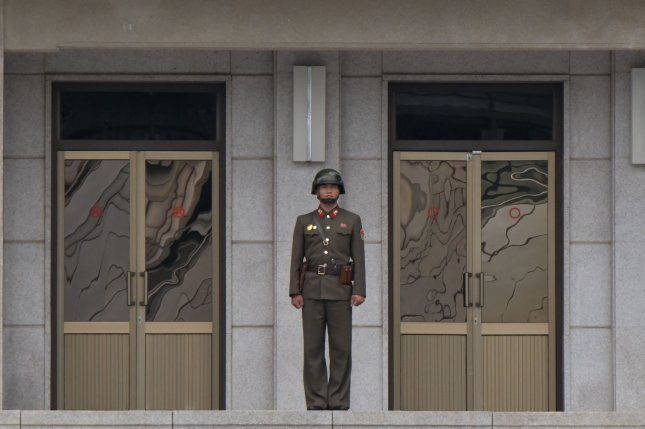 More North Korean soldiers are defecting to the South, sometimes owing to a lack of food being supplied to the army, according to South Korean press reports. Photo by Keizo Mori/UPI