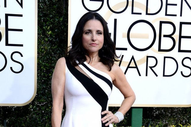 Julia Louis-Dreyfus attends the 74th annual Golden Globe Awards on January 8. Louis-Dreyfus announced on Thursday she has been diagnosed with breast cancer. File Photo by Jim Ruymen/UPI