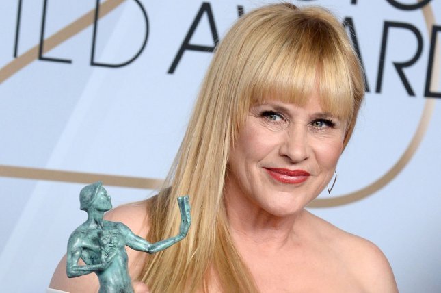 Patricia Arquette discussed her brother David Arquette wrestling on The Ellen DeGeneres Show. File Photo by Jim Ruymen/UPI