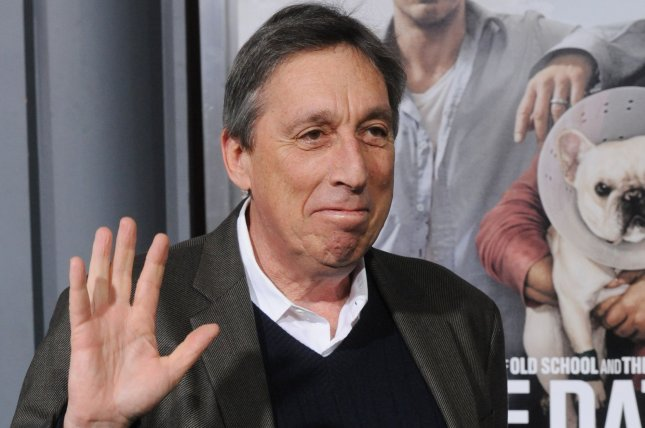 Director Ivan Reitman, pictured, says he will not direct Ghostbusters 3 following the death of Harold Ramis. (File/UPI/Jim Ruymen)